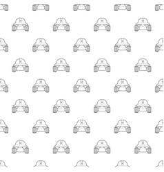 Smart robot pattern seamless vector