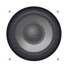Sound speakers dynamics vector