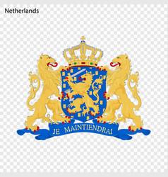 symbol of netherlands vector image