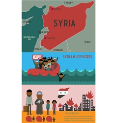syrian vector image