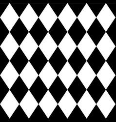Tilted diagonal squares rhombus pattern repeat it vector