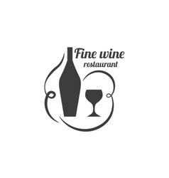 Restaurant Label Food Service Logo vector image