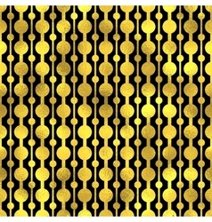 Seamless pattern Golden fashion background vector image