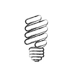 silhouette blurred modern light bulb off icon vector image vector image