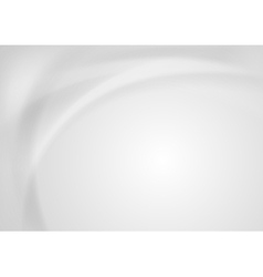 Abstract grey pearl waves background vector image