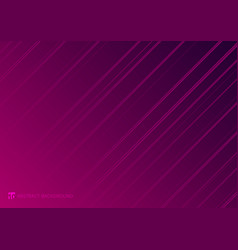 abstract striped neon line diagonal glowing pink vector image