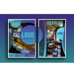 Brochure design Layout template vector
