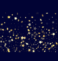 gold gradient star dust sparkle background vector image