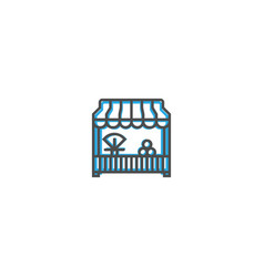 Grocery icon line design business icon vector