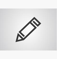 pencil icon sign symbol vector image