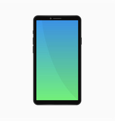 phone template vector image