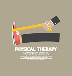 Physical Therapy vector image