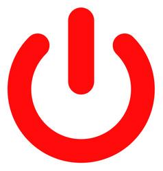Turn off flat icon symbol vector