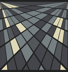 geometry background vector image