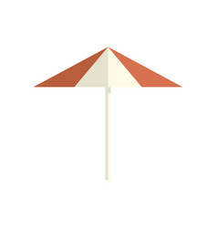 Parasol icon on white isolated background vector