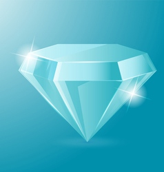 Diamond Luxury Glow Object Accessories vector image