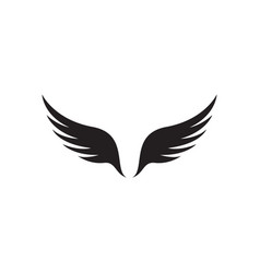 Wing icon design template isolated vector