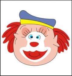 clown 1s vector image vector image