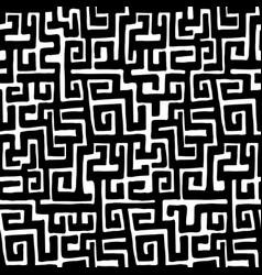 African kuba ethnic seamless pattern vector