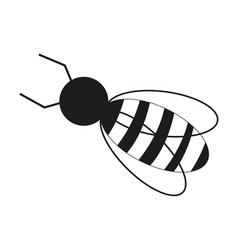 bee work cooperation image pictogram vector image