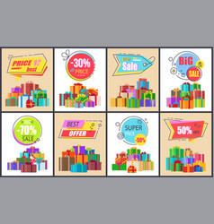 best sale and super price on vector image
