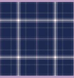 Blue plaid pattern vector