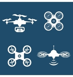 Drone icon design vector