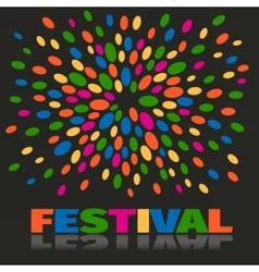 festival vector image