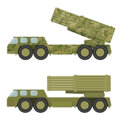 Military rocket launcher vector image