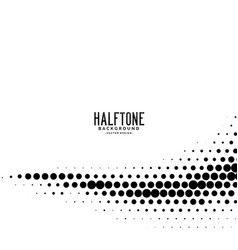 Minimal wavy dots halftone background vector