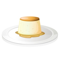 Puding vector image