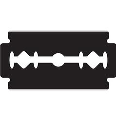 Razor blade vector image