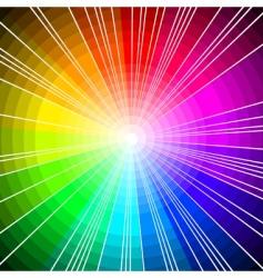 spectrum circles vector image