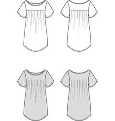 tunic vector image