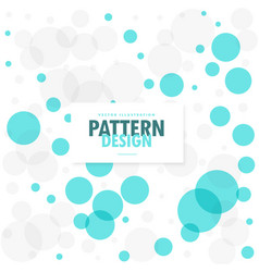 Abstract blue and gray circles background vector