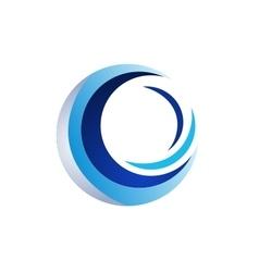 Circle elements logo sphere symbol icon design vector