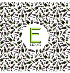 Endless e liquid background vector