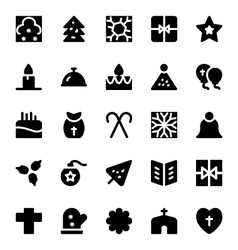 Christmas Icons 8 vector