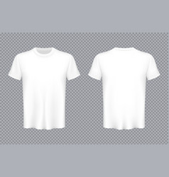 creative of colored t-shirts vector image