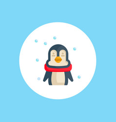 penguin icon sign symbol vector image