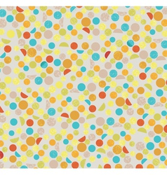 Polka dots background vector image