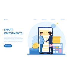 Reaping rewards from a smart investment vector