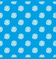 sushi japan pattern seamless blue vector image