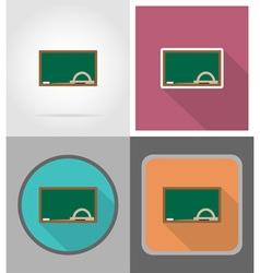 School education flat icons 08 vector
