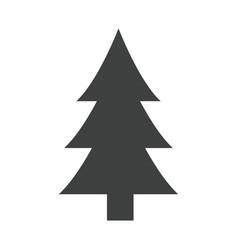 tree pine natural environment ecological symbol vector image