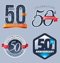 50 Years Anniversary Logo vector