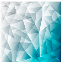 Abstract blue lowpoly background template for vector