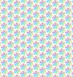 Abstract geometric line colorful hexagon seamless vector image