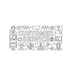 Customer service customer vector