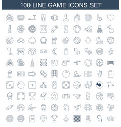 Game icons vector